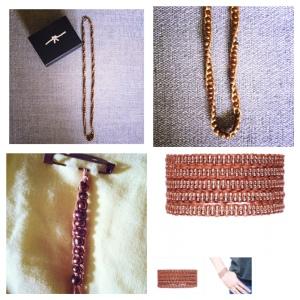 bracelet macrame et perles