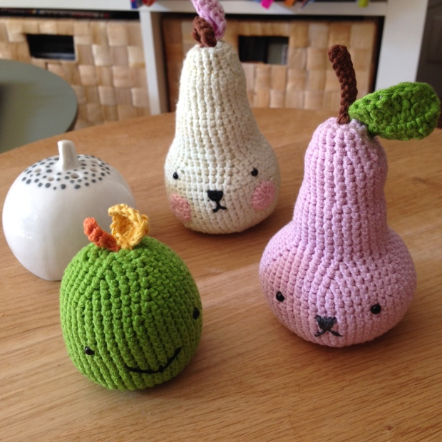 fruits crochet